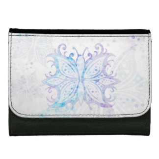 Wallet Butterfly Abstract