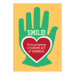 Wallet Card: Random Act of Kindness (RAK) Gift Pack Of Chubby Business Cards