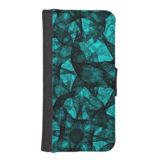 Wallet Case iPhone 5s Fractal Art