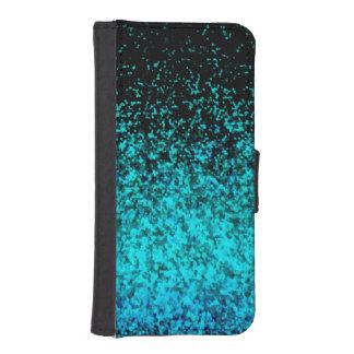 Wallet Case iPhone 5s Glitter Dust Background