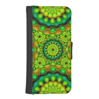 Wallet Case iPhone 5s Mandala Psychedelic Visions