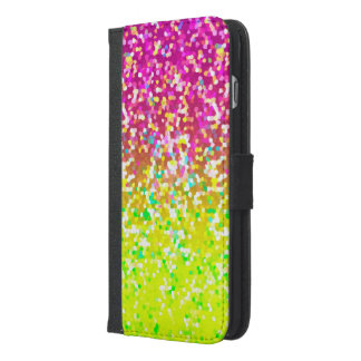 Wallet Case iPhone 6/6s Plus Glitter Graphic
