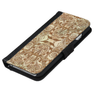 Wallet Case iPhone 6 Ethnic Style