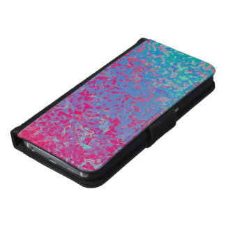 Wallet Case Samsung S6 Colorful Corroded Backgroun
