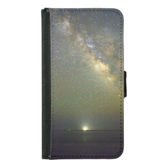 Wallet Case with Night Sky and Sea image.