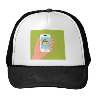 Wallet Phone in Hand Cap