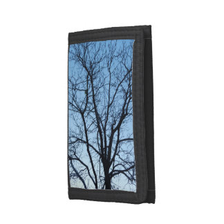 Wallet with Color Photo of Winter Tree Branches