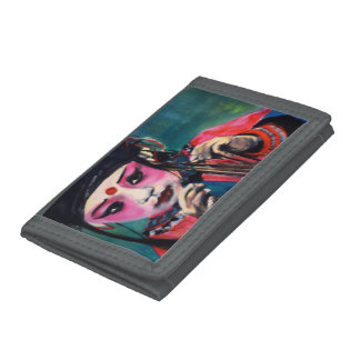 Wallet with painting 'dance'