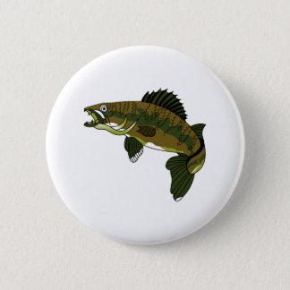 Walleye 6 Cm Round Badge