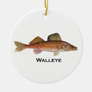 Walleye Christmas Ornament