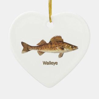 Walleye (Great Lakes) Christmas Ornament