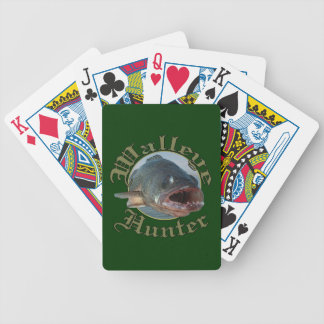 Walleye Hunter 2 Bicycle Playing Cards