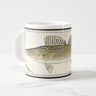 Walleye Pike Fish Giant Coffee Mug