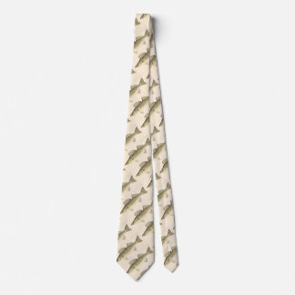 Walleye Pike Pattern Tie