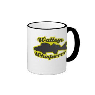 Walleye Whisperer Ringer Mug