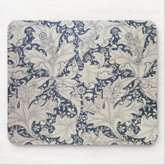 Arts and crafts movement mouse mats - Wall flower design ...