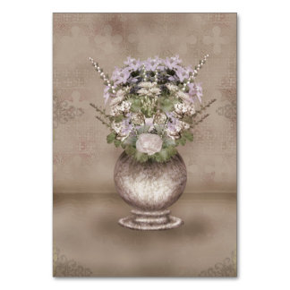 Wallflowers Table Cards