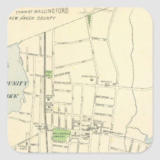 Wallingford Square Sticker