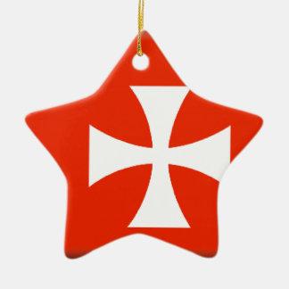 Wallis and Futuna Flag Christmas Ornament