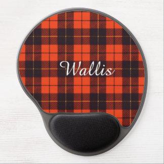 Wallis clan Plaid Scottish tartan Gel Mouse Pad