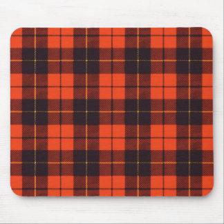 Wallis clan Plaid Scottish tartan Mouse Pad