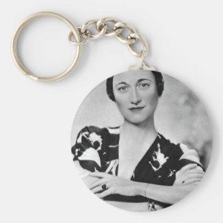 Wallis Simpson Keychain