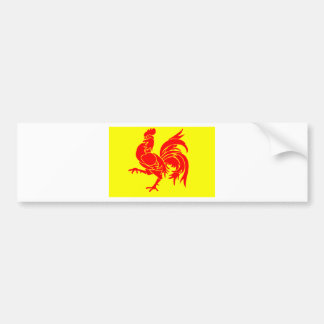 Wallon Rooster Bumper Stickers