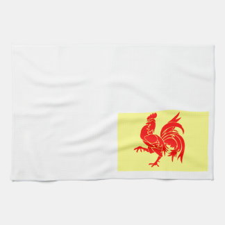 Wallon Rooster Tea Towel