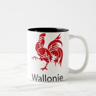 Wallonia Belgique Two-Tone Coffee Mug