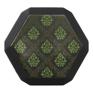 Wallpaper Floral Green Black Bluetooth Speaker
