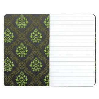 Wallpaper Floral Green Journal