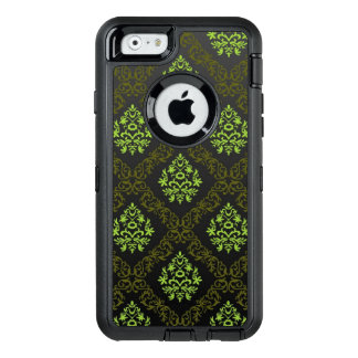 Wallpaper Floral Green OtterBox Defender iPhone Case