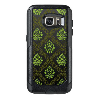 Wallpaper Floral Green OtterBox Samsung Galaxy S7 Case