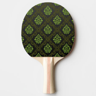 Wallpaper Floral Green Ping Pong Paddle
