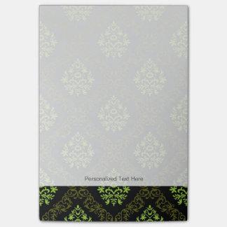 Wallpaper Floral Green Post-it Notes