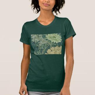 Wallpaper Pattern Sample with Chrysanthemum T-Shirt