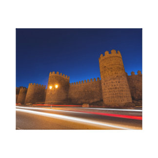 Walls of Avila Canvas Print