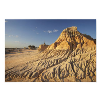 Walls of China Formations, Mungo National Photo Print