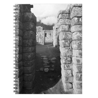 Walls of Machu Picchu Notebooks