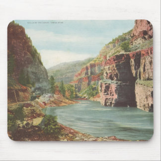 Walls of the Canon, Grand River (Canyon) Mouse Mat