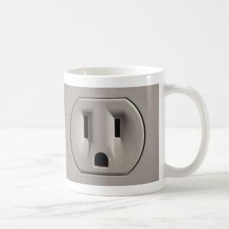 Wallsocket Basic White Mug