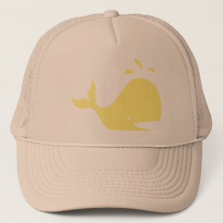 Wally the whale trucker hat