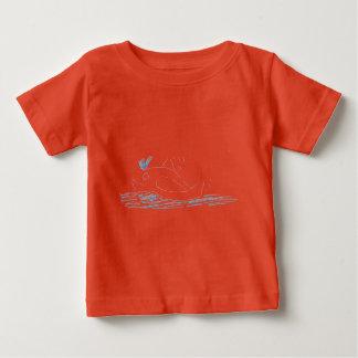 Wally Whale Children's T-shrt Baby T-Shirt