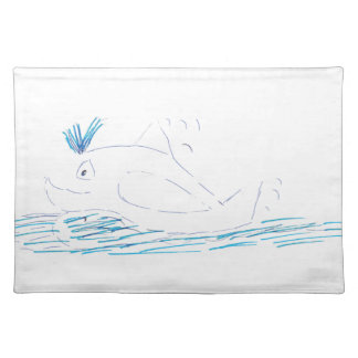 Wally Whale Placemat