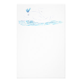 Wally Whale Stationery