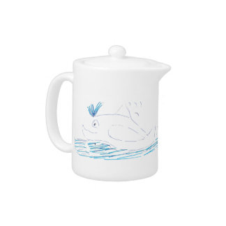 Wally Whale Teapot