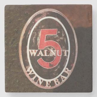 Walnut, Asheville Stone Beverage Coaster