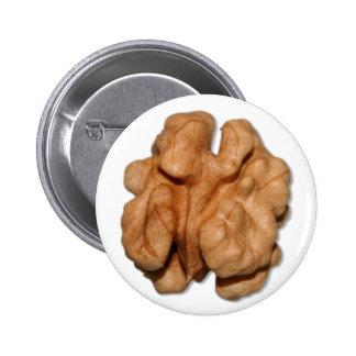 Walnut Pinback Buttons