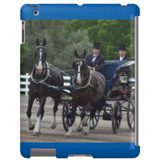walnut hill carriage driving horse show iPad case