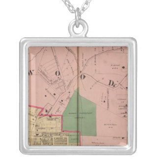 Walnut Hills, Ohio Silver Plated Necklace